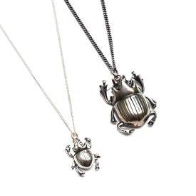 Little Scarab Necklace and Scarab Necklace