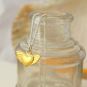 Golden Winged Heart by Joy Everley