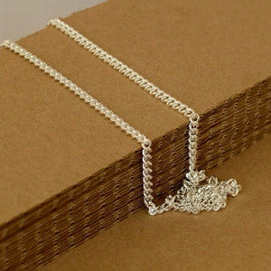 Silver Chain, Plain & Substantial by Joy Everley