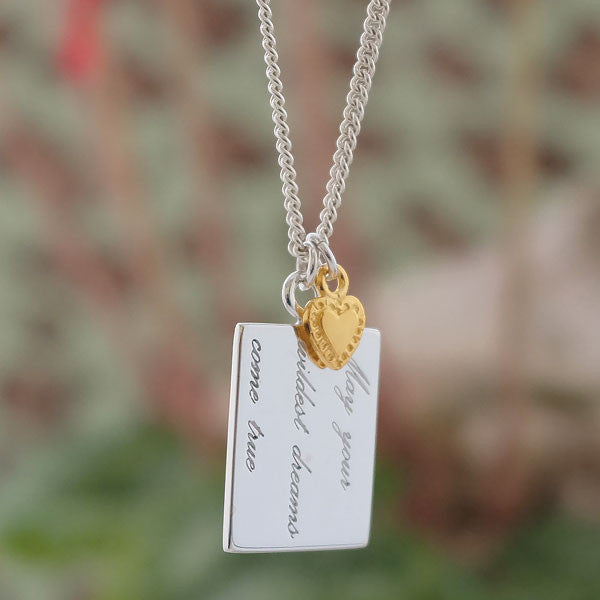 Wildest Dreams & Heart Necklace - Joy Everley Fine Jewellers, London