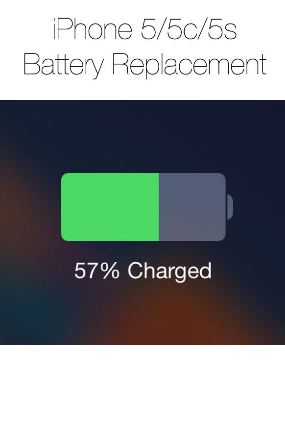 iPhone Battery Replacement (5, 5c or 5s)
