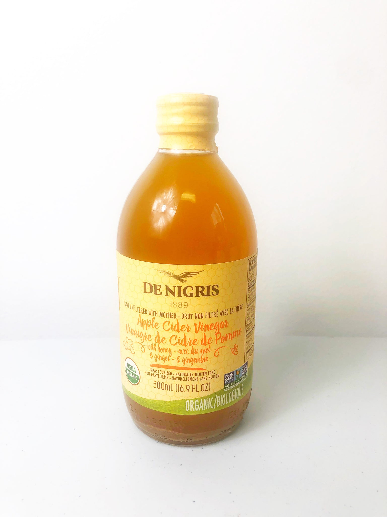 De Nigris Organic, Raw & Unfiltered Vinegar