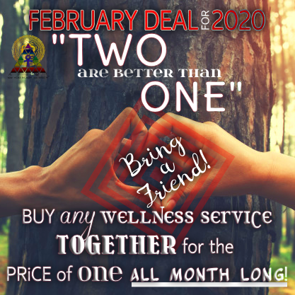 FEBRUARY DEAL: TWO for ONE DEAL!