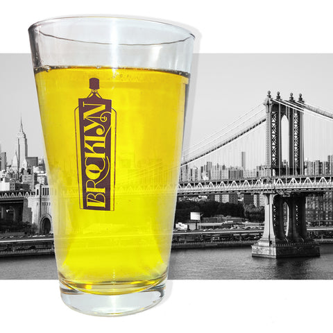 Brooklyn Pint Glass