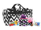 MOMMMIES2BE - Prepacked Maternity Labor Bag with Toiletries