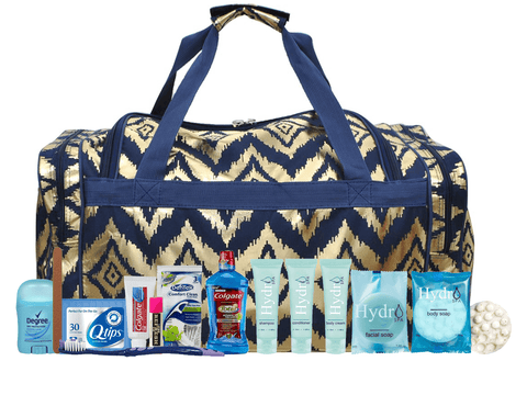 products/Ikat_gold_navy_duffle_set_with_toiletries.png