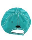 Mama Bear Cap - Teal