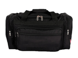Maternity Hospital Labor Duffle Bag, Pre-packed Toiletry Bag - Solid Black