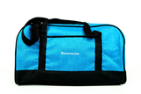 Exclusive Mommies2be - Maternity Hospital Labor Duffle Bag, Pre-packed Toiletry Bag - Mommies2be Heather Blue