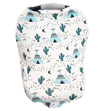 Car Seat Cover - Desert Moon Cactus
