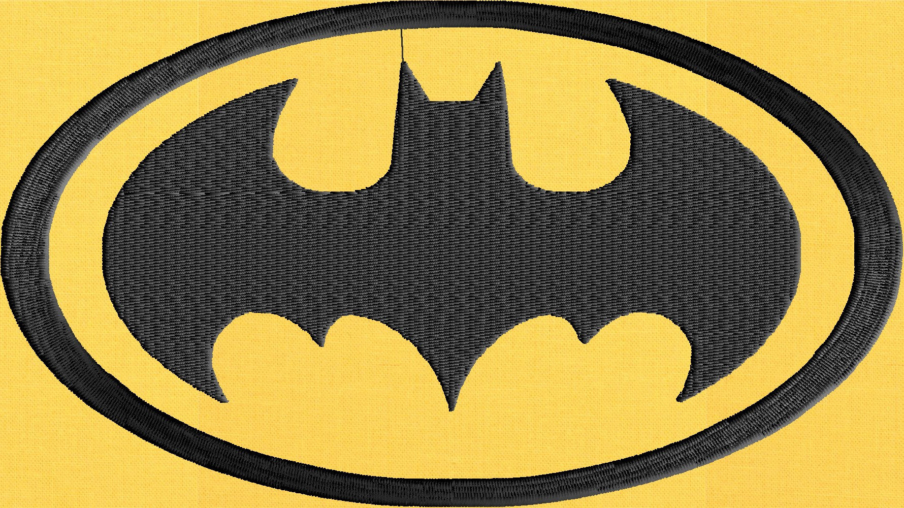 BATMAN Embroidery Design - EMBROIDERY Design FILE - Instant download ...