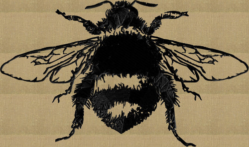 Bumble Bee - Victorian Vintage - Embroidery DESIGN FILE - animals