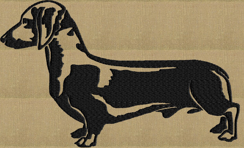 Dachshund - Embroidery Design Embroidery DESIGN FILE - Instant download animals
