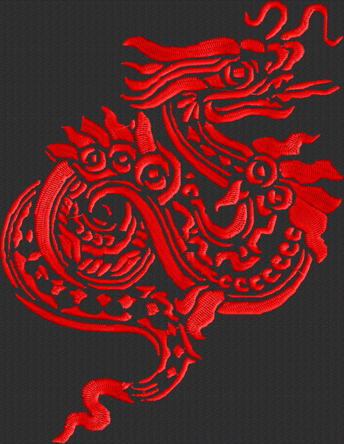 Dragon - Chinese - Embroidery DESIGN - Instant download  animals
