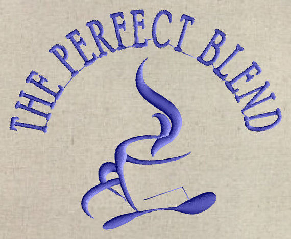 The Perfect Blend Font Frame Monogram - Font not included - EMBROIDERY DESIGN FILE