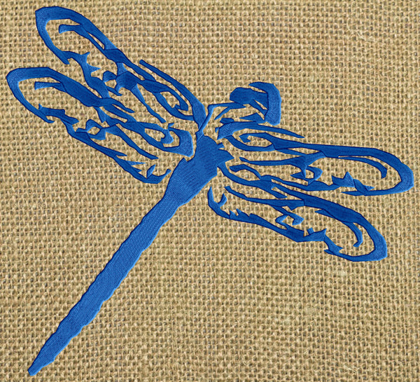 Dragonfly spring design dragon fly embroidery