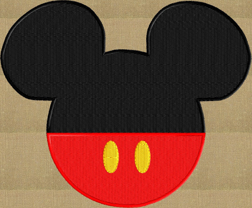 Mickey Ears w pants Embroidery Design - EMBROIDERY Design FILE - fun stuff