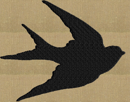Swallow Bird - EMBROIDERY DESIGN FILE - Instant download animals