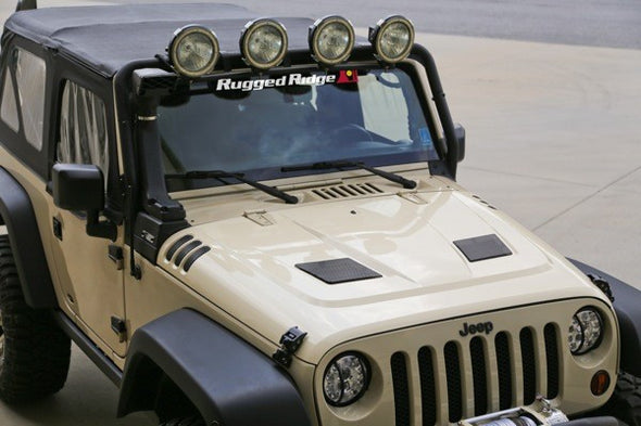 Rugged Ridge Performance Vented Hood
