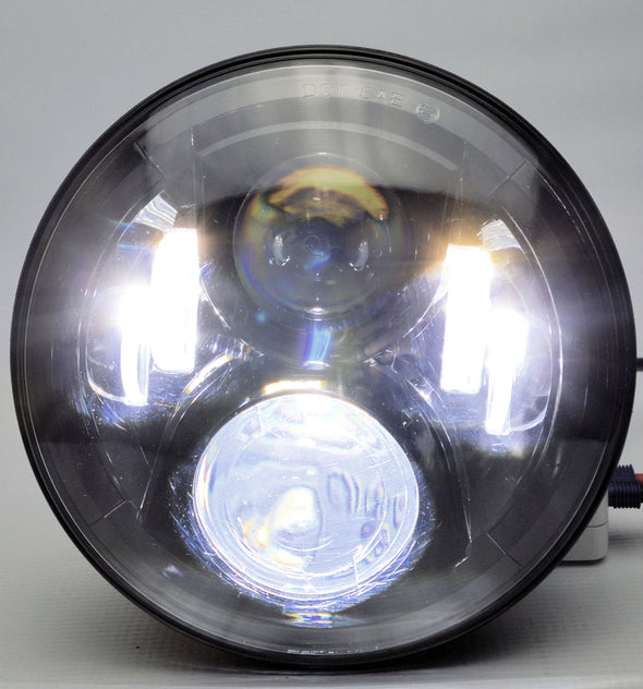 "Viper Series D.O.T approved 7"" LED Jeep headlights"