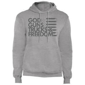 God, Guns, Trucks & Freedom Core Fleece Pullover Hoodie