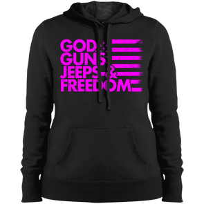 God, Guns, Jeeps & Freedom Hooded Sweatshirt