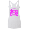AVW Jeep Ladies' Triblend Racerback Tank