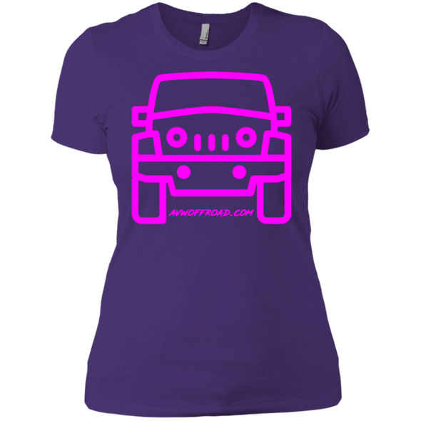 AVW Jeep Ladies' Boyfriend T-Shirt