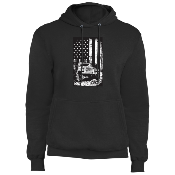 Jeep Flag Core Fleece Pullover Hoodie