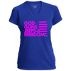 God, Guns, Jeeps & Freedom Ladies' Performance T-Shirt