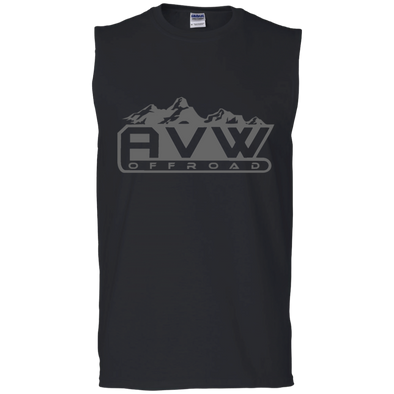 AVW (Grey) Cotton Sleeveless T-Shirt