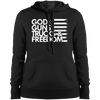 God, Guns, Trucks & Freedom Ladies' Ladies' Pullover Hooded Sweatshirt