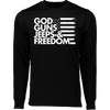 God Guns Jeeps & Freedom Wicking T-Shirt