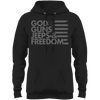 God, Guns, Jeeps & Freedom Fleece Pullover Hoodie