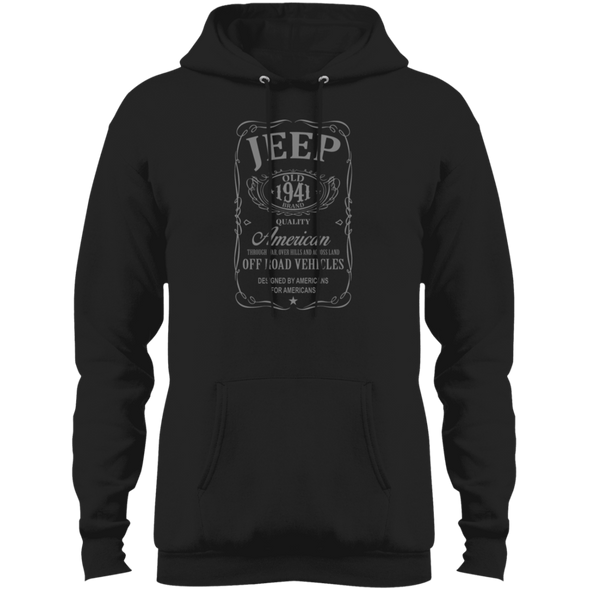 Whiskey (Grey) Fleece Pullover Hoodie
