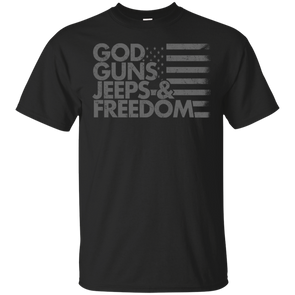 God, Guns, Jeeps & Freedom T-Shirt