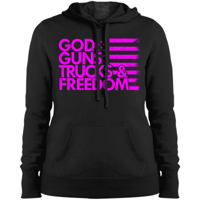 God, Guns, Trucks & Freedom Hooded Sweatshirt