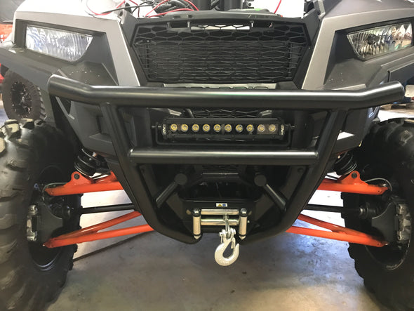 "Black out series 10"" single row light bar"