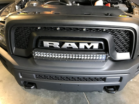 Blackout double row curved 24 lightbar for ram rebel front bumper blackout double row curved 24 lightbar for ram rebel front bumper aloadofball Image collections