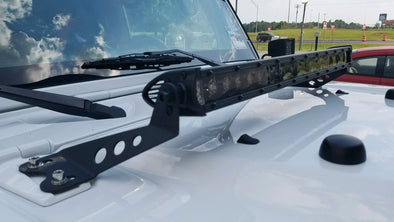 "Black out series 21.5"" single row light bar"