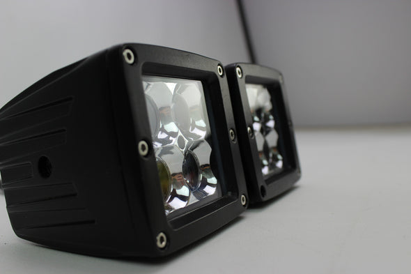 3D Series LED Pods 20w with optical magnifiers pair