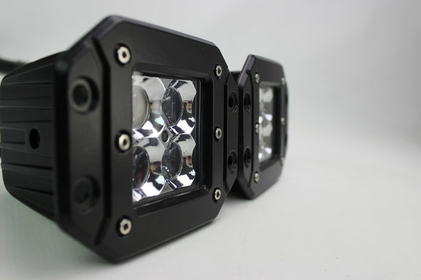 Flush Mount LED POD work lights Pair