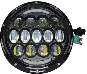 D.O.T approved LUCKY 13 Jeep headlights