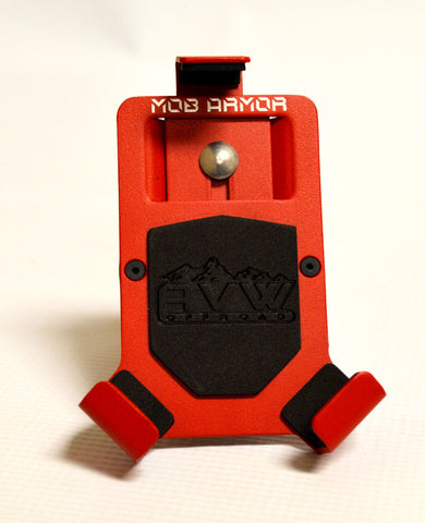 Mob Armour small Red phone holder