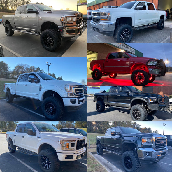 Truck Lift Kit, Tire & Wheel packages deposit