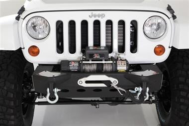 "Smittybilt XRC M.O.D. Modular Center Section with Winch Plate and D-ring Mounts + FREE 13"" LED Lightbar"