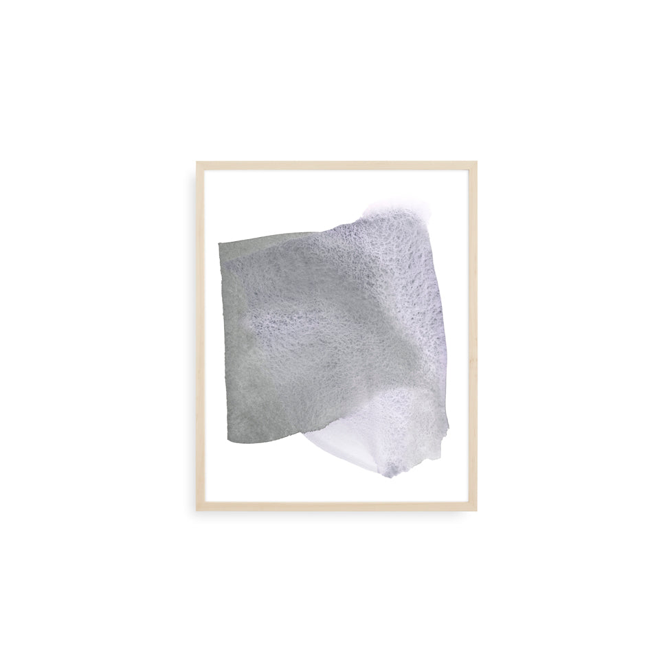 Flight Form Lavender Grey | Print by Malissa Ryder