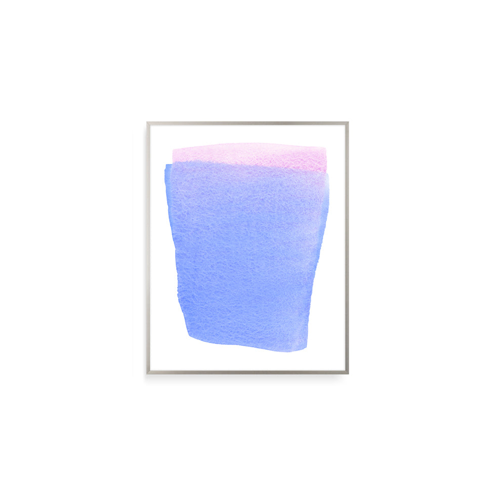 Pink within Blue | Print by Malissa Ryder