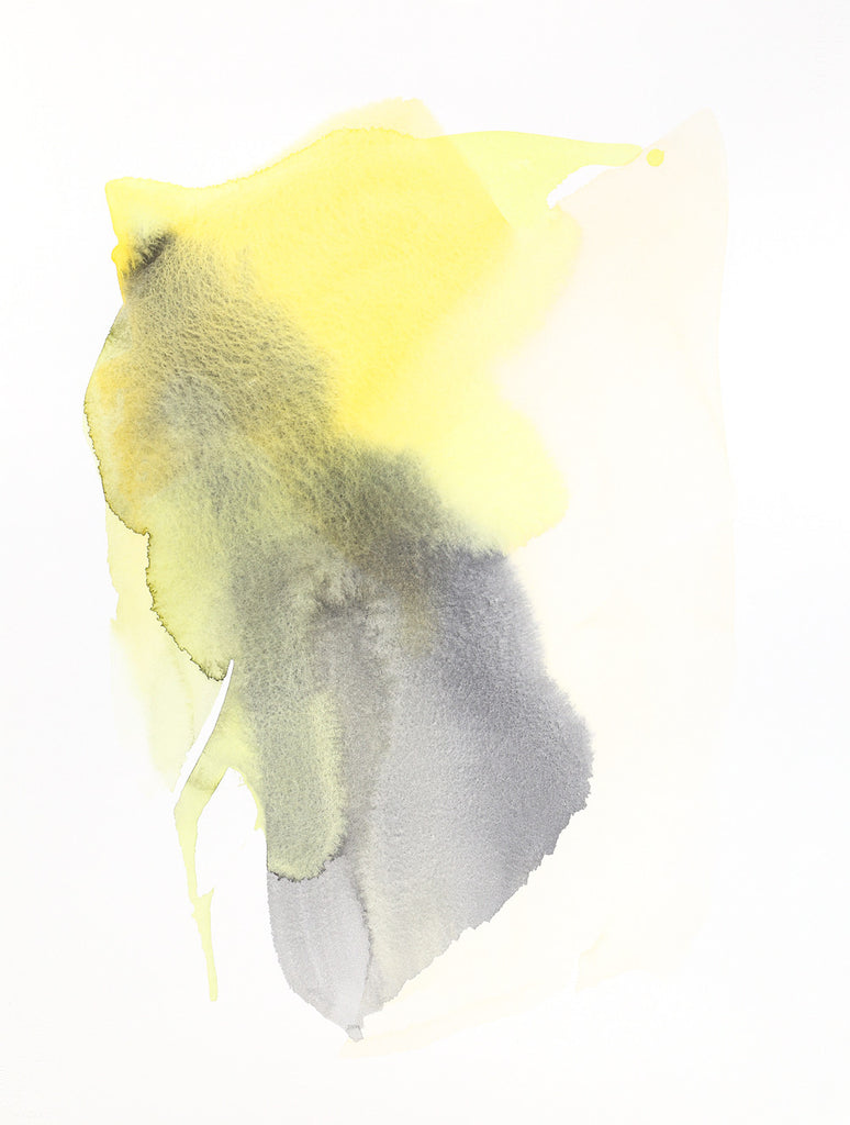 Flight Form, Bee | Watercolor by Malissa Ryder