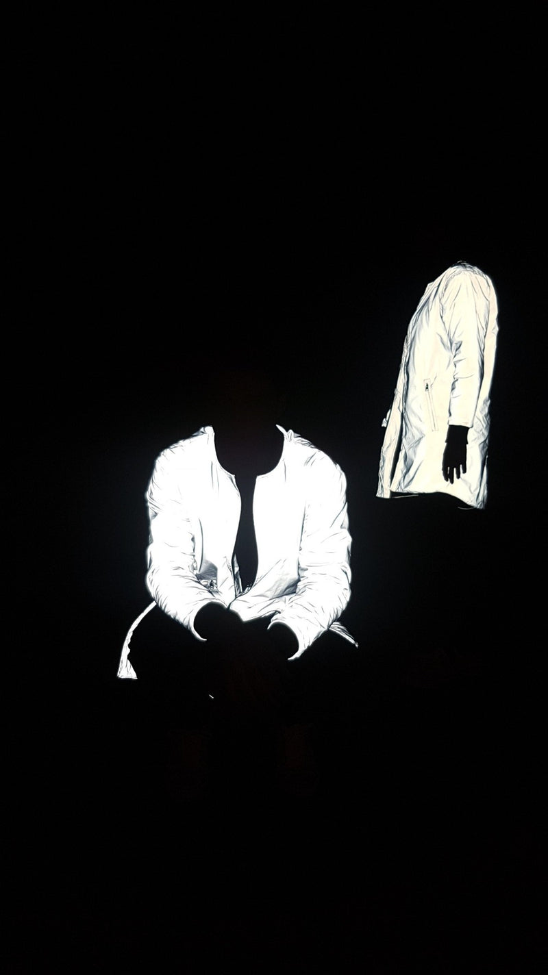 Reflective Longline Hoodied 3M Quilted Bomber Jacket
